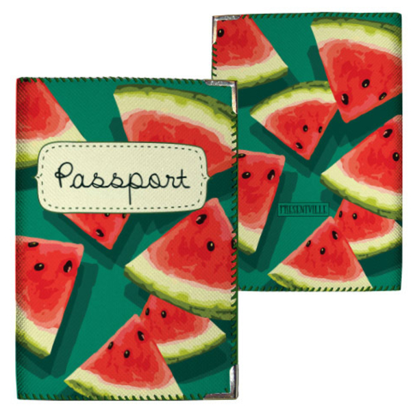"Passport cover ""Watermelons"""