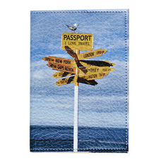 """Passport cover """"Where to fly?"""""""
