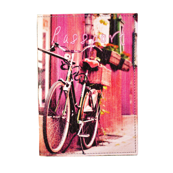 """Passport cover """"Bicycle"""""""