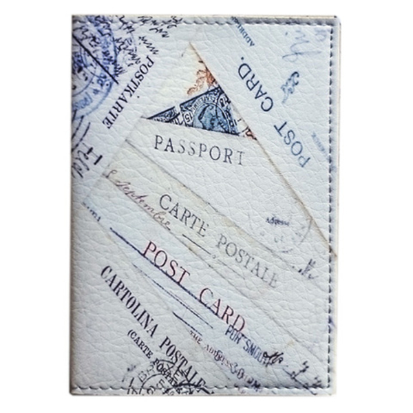 """Passport cover """"Post cards"""""""