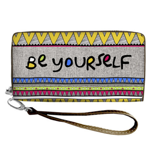 "Wallet ""Be yourself"""