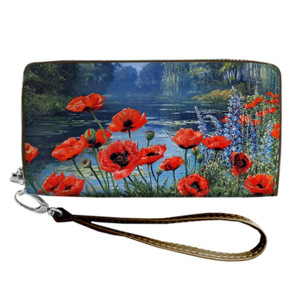 """Wallet """"Poppies"""""""