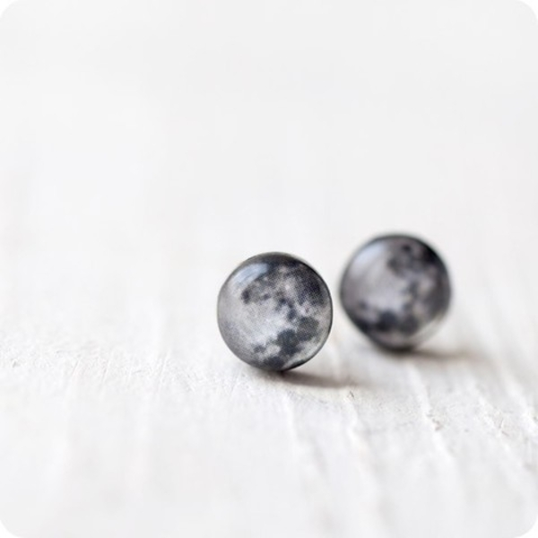 "Earrings ""Moon"""
