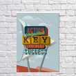 """Poster """"The key to success"""""""