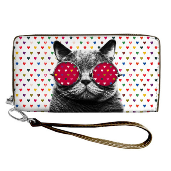 """Wallet  """"Cat and Love"""""""